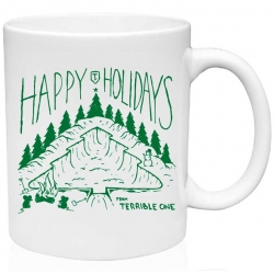 Terrible One Holiday coffee mug