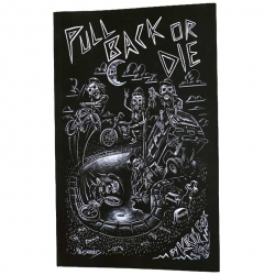 """Fast and Loose BMX """"Pull Back or Die"""" book"""