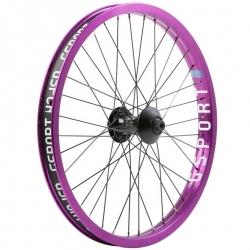 Gsport Elite V2 purple front wheel