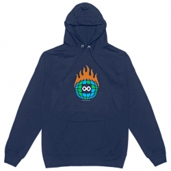 Burn Slow Entertainment hooded sweatshirt - Globe