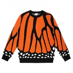 Burn Slow Entertainment Butterfly knit sweater