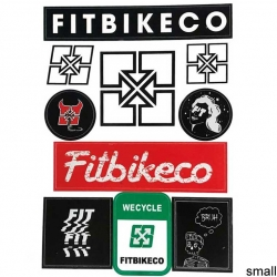 Fit Bikes sticker sheet