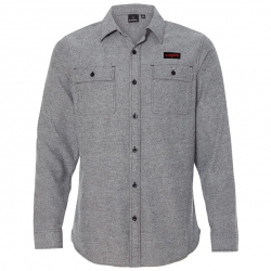 Empire BMX flannel - heather gray