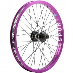 Gsport Elite FC purple rear wheel