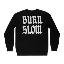 Burn Slow Entertainment Globe knit sweater