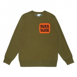 Burn Slow Entertainment Corporate knit sweater