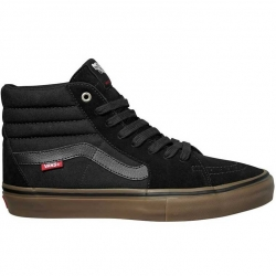 Vans SK8-Hi Pro shoes - Dak Roche burnt olive / black