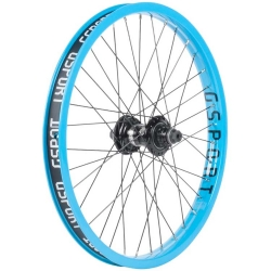 Gsport Elite FC cyan blue rear wheel
