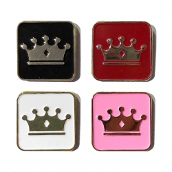 Empire BMX Crown enamel pin
