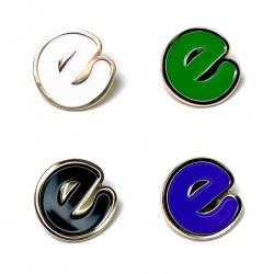 Empire BMX E enamel pin