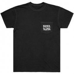Burn Slow Entertainment Pocket t-shirt - Brush