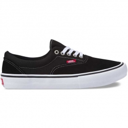 Vans Era Pro shoes - black / white / gum