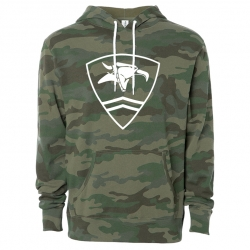 Animal pullover hooded sweatshirt - Rambo