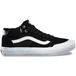 Vans Style 112 Mid Pro shoes - black / white