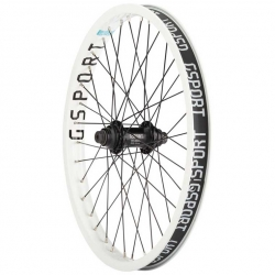 Gsport Elite white front wheel